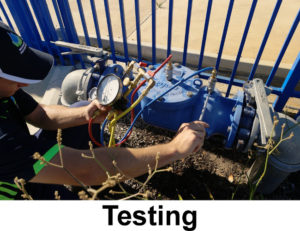 backflow prevention testing example